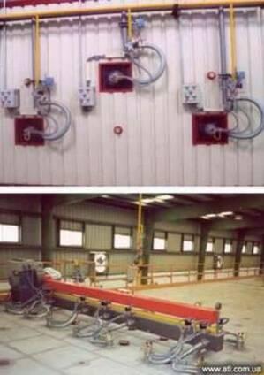 Cкоростные газовые горелки модели FOC15/25ML и FOC 15 MV