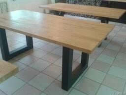 Tables of oak - photo 4