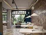 Design for office, bank, restaurant, bar, beauty salon - photo 1