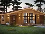Дома из бруса профилированного и оцилиндрованного бревна. Строительство и проектирование - фото 6