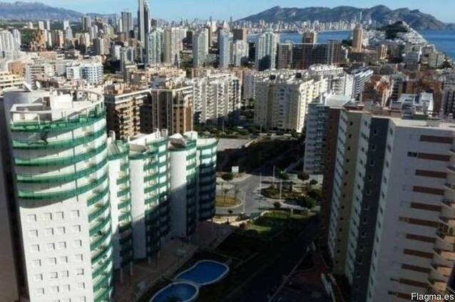 Недвижимость в Испании, Квартира с видами на море в Бенидорме