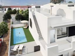 Недвижимость в Испании, Новые бунгало рядом с пляжем от застройщика в Сан-Хавьер