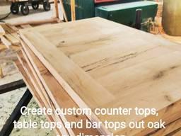 Sell countertops reclaimed oak