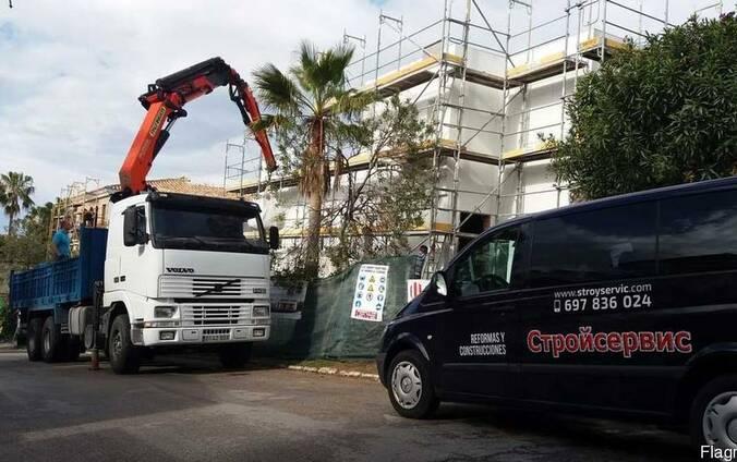 Строительные услуги в Испании.