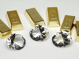 Золото. Алмазы